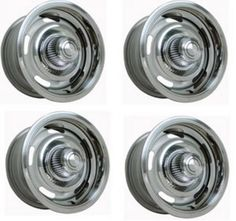 CAMARO PARTS/CHEVELLE PARTS/EL CAMINO PARTS/NOVA PARTS WHEEL KIT, 14x7 WITH PLASTIC RALLY CAP SUPER MUSCLE PARTS 916-638-3906