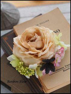 2013年12月 : Bonbon Fleur ~ Jours heureux コサージュ&和装髪飾り