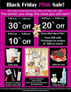 More items you purchase the bigger your discount. Mary Kay gift sets available.  Ask me about the 12 days of Christmas!