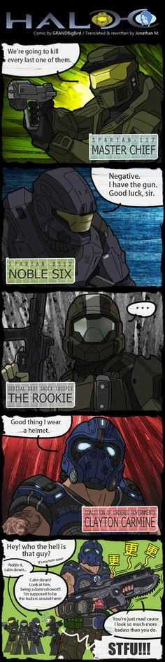 THAT other helmeted badass by ~GRANDBigBird on deviantART