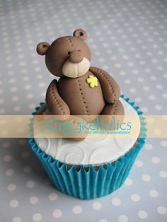 Baby Boy Cupcakes by Cupcakeholics, via Flickr