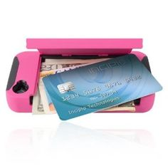 Iphone case with room for credit cards and money!
