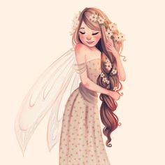 A little fairy sketch #idobeliveinfairies
