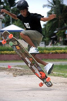 Rider from the Philippines #longboard