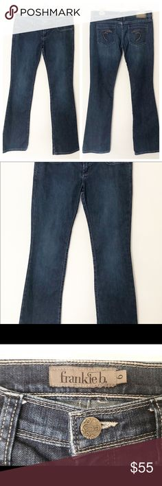 9dca4cf4ef9 Frankie B Jeans Size 6 Made in Los Angela's Great pair of pre-loved,