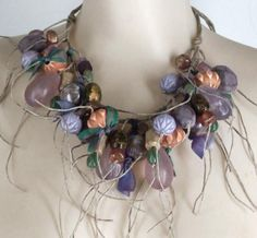 Heather Collection necklace, Teresa Goodall, Gallery Five