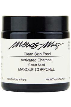 Menos Mas - Carrot Activated Charcoal – Detoxifying Mask - Birchbox