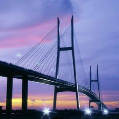 The Mỹ Thuận Bridge is a cable-stayed bridge over the Mekong river, connecting Cái Bè District of Tiền Giang Province with Vĩnh Long City of Vĩnh Long Province in Vietnam. It was developed in a joint venture between the governments of Australia and Vietnam. The bridge was the largest overseas assistance project undertaken by the Australian government. It was built by Bilfinger Berger and completed in 2000. Vietnam Tourism, Vietnam Travel Guide, Travel Around The World, Around The Worlds, Cable Stayed Bridge, Culture Travel, Joint Venture, Australia, River