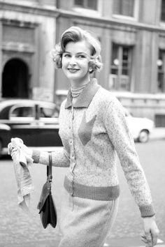 Classic street style, circ. 1958.