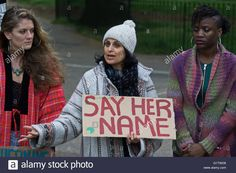 Vigil for Sarah Reed a victim of Prison Death in HMP Holloway https://youtu.be/GKDzZlmeApQ Vigil for Sarah Reed a victim of Prison Death in HMP Holloway ,#rota,#blacklivematter,#NoJusticeNoPeace,#SarahReed,#SayHerName Live News Photos by See Li   Alamy…