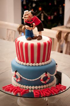Popeye | María Andrée Couture Cakes