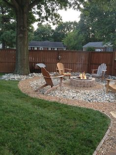 These are three of the most useful front yard landscaping ideas that have been used by homeowners in the past. The charm of these front yard landscaping ideas. Backyard Patio Designs, Backyard Projects, Fenced In Backyard Ideas, Fire Pit Landscaping Ideas, Landscaping Design, Back Yard Patio Ideas, Cool Backyard Ideas, Landscaping Ideas For Backyard, Privacy Fence Landscaping