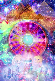 My Star Family - Picture from Star-Brother here on Earth Patrick - Golden Lotus - thank you