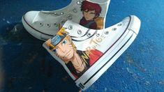 #gaara shoes #Naruto Gaara anime naruto shoes naruto custom naruto