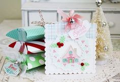 Sweet Holiday Tag by Melissa Phillips for Papertrey Ink (October 2015)