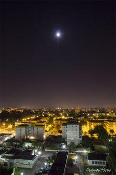 Azotea. Foto: Salvador Moreno #photo  #Nocturna
