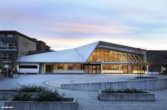 Library in Vennesla, Norway. Opened 29 October 2012. Architects Helen og Hard from Stavanger