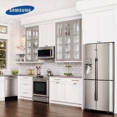 samsung slide in range in a kitchen - Google Search