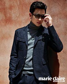 nice [Latest] Actor Kim Soo Hyun in Marie Claire Korea Photoshoot  2014