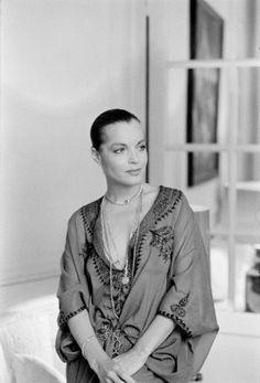 Portrait of Romy Schneider by Giancarlo Botti, 1970's