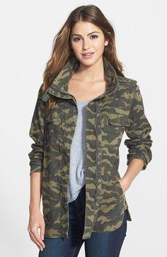 PRESS Two-Pocket Stretch Cotton Military Jacket