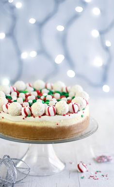 Sprinkle Bakes: Christmas Candy Cheesecake