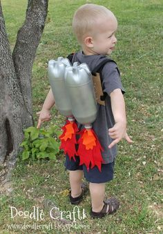 5...4...3...2...1... ¡despegue! #Disfraz #Infantil #DIY