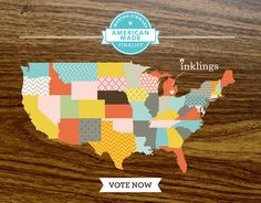 Inklings Paperie - http://www.inklingspaperie.com/ - Made in America - Made in USA