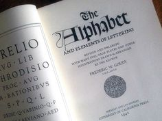The Alphabet and Elements of Lettering by Frederic Goudy