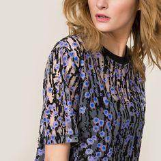 Paillettenkleid CARVEN Carven, Boutique, Blouse, Glitter, Style, Tops, Women, Fashion, Fashion Ideas