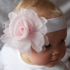 Rose Headband Pink | fawn and milk