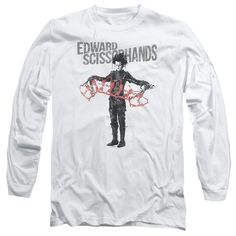 """Checkout our #LicensedGear products FREE SHIPPING + 10% OFF Coupon Code """"Official"""" Edward Scissorhandshort Sleevehow & Tell-long Sleeve Adult 18 / 1 - Edward Scissorhandshort Sleevehow & Tell-long Sleeve Adult 18 / 1 - Price: $29.99. Buy now at https://officiallylicensedgear.com/edward-scissorhandshort-sleevehow-tell-long-sleeve-adult-18-1"""