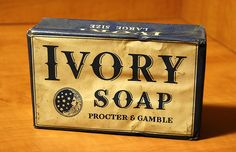 evolution of a brand - Ivory soap through the years