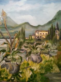 Balneario -  Oleo/lienzo 65x81