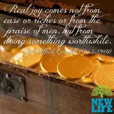 In God's economy, your gold will be worth less than the pavement under your feet! Often overlooked are children, the poor and our relationships with others.