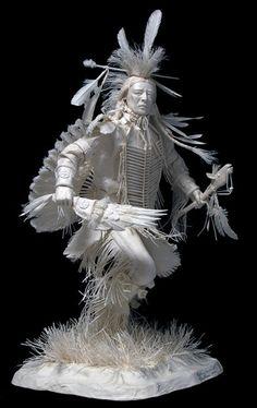 Escultura de papel