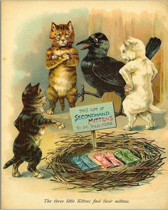 Grace Floyd , The three little kittens find their mittens.
