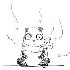 【一日一大熊猫】2016.11.27 クマ科の中でもジャイアントパンダは冬眠しない種類だよ。 実は暑いより寒い方が好きなんだね。 #パンダ #クマ科 #ジャイアントパンダ #panda #pandaJP #冬眠