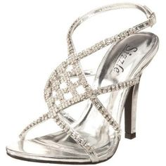 2 Silver Homecoming Shoes   bridal fashion wedding ideas