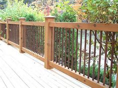 stainless steel deck railing barn - Google Search