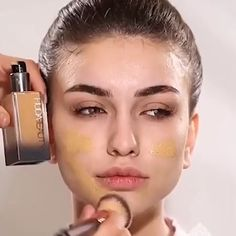Discover recipes, home ideas, style inspiration and other ideas to try. Makeup Tutorial Foundation, Smokey Eye Makeup Tutorial, Revlon, Classy Makeup, Wedding Makeup Tutorial, Wedding Makeup Tips, Everyday Makeup Tutorials, Makeup Tutorial For Beginners, Makeup Tutorial Videos