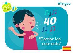 Mamá me cantó las cuarenta = Mamá me regañó. ¿Sabías que el origen está en un juego de cartas? by Wlingua