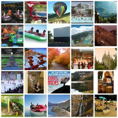 40 Must-Do Kids' Activities around Salt Lake City.  (From my cute friend at momexploresmichigan.blogspot.com)