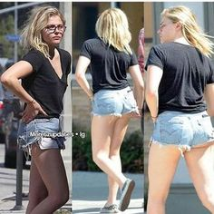 Chloë's sexy legs and sweet, curvy @$$ are such sunshiny treats to enjoy! ❤❤❤❤
