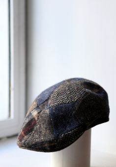 A patchwork cap is a great accessorie for a Winter saturday morning 3cf39d64f034