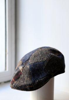 A patchwork cap