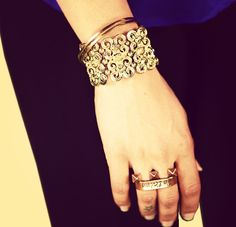 MTV style pic of the day with VJ Banij ! Add some Bling to your outfit with these uber cool looking accessories!for further uber cool looking style tips, log onto www.mtv.in.com/style