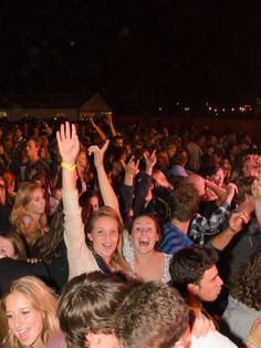 Fun in the crowd at Opening Orion Student Party in Wageningen, #openingorion