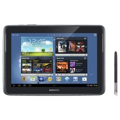 """Samsung Galaxy Note 10.1"""" 32GB Android 4.0 Tablet With Exynos 4412 Processor - Grey"""