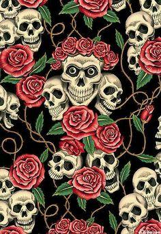 wallpaper additionally sugar skull - photo #46